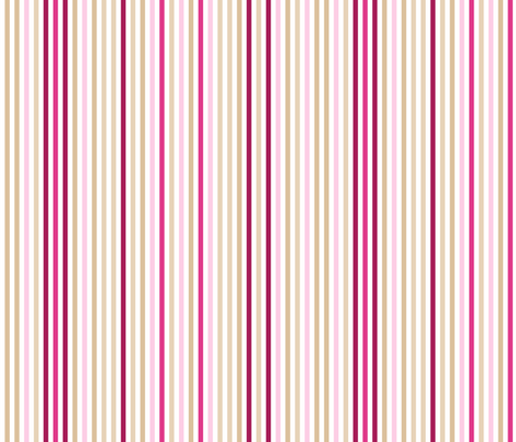 Oriental Lily stripe fabric by neatdesigns on Spoonflower - custom fabric