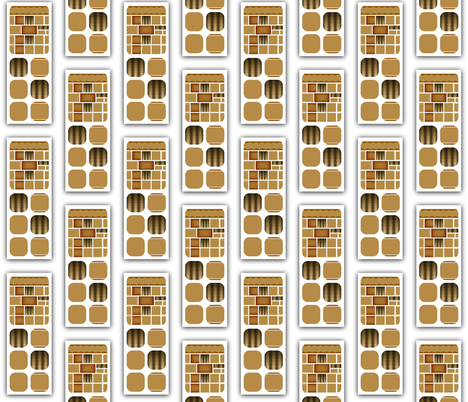 High Rise Apartments fabric by anniedeb on Spoonflower - custom fabric
