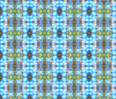 green blue sky plaid fabric by eat_my_sweet_dust on Spoonflower - custom fabric