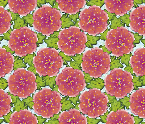 TROPICAL_FLORAL fabric by glimmericks on Spoonflower - custom fabric