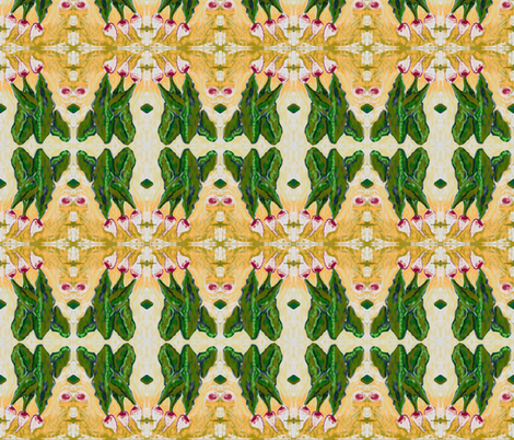 Turnip_Greens fabric by kkitwana on Spoonflower - custom fabric