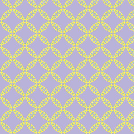 Halloween Twilight Triangle Linked Rings fabric by taracrowleythewyrd on Spoonflower - custom fabric
