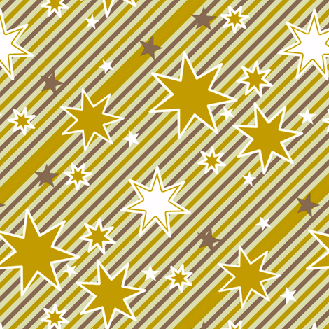 Sparkles and stripes fabric by hannafate on Spoonflower - custom fabric