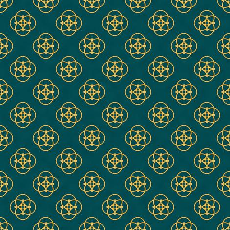 Magickal Charms (Blue) fabric by taracrowleythewyrd on Spoonflower - custom fabric
