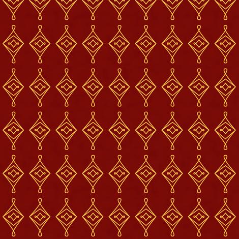 Magickal Charms (Red) fabric by taracrowleythewyrd on Spoonflower - custom fabric