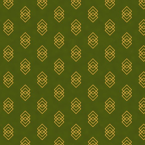Magickal Charms (Green) fabric by taracrowleythewyrd on Spoonflower - custom fabric