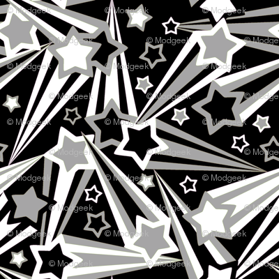 Space Stars 75 Black