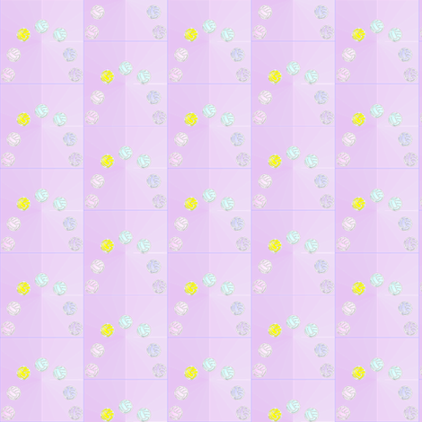 volleyball_spoonflower_rainbow_effect2_6_24_2012 fabric by compugraphd on Spoonflower - custom fabric