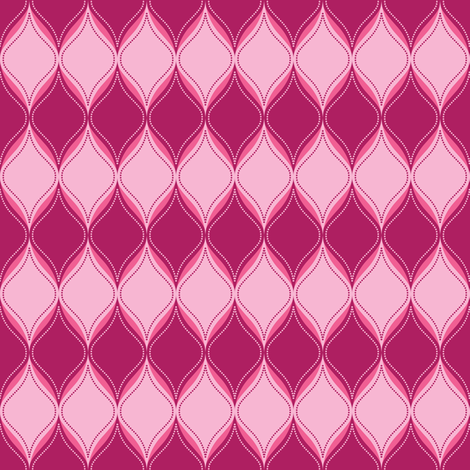 Stellar Ogee fabric by robyriker on Spoonflower - custom fabric