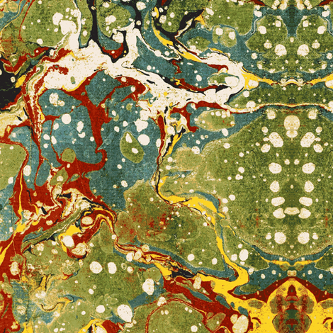 Marbled Endpaper fabric by flyingfish on Spoonflower - custom fabric