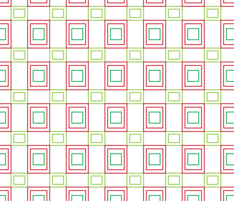 Cherry Squares fabric by jjtrends on Spoonflower - custom fabric