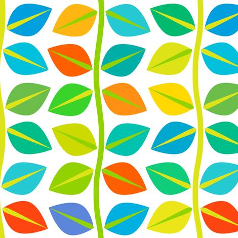 Beanstalks fabric by nekineko on Spoonflower - custom fabric