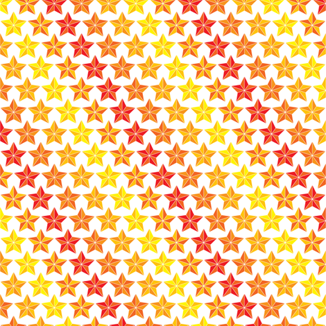 Stars In Stripes fabric by ebygomm on Spoonflower - custom fabric