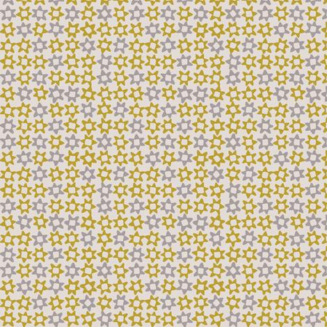 MINI_STAR_YELLOW fabric by glorydaze on Spoonflower - custom fabric