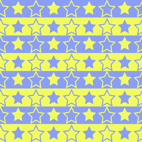 stars_and_stripes fabric by the_bearded_lady on Spoonflower - custom fabric