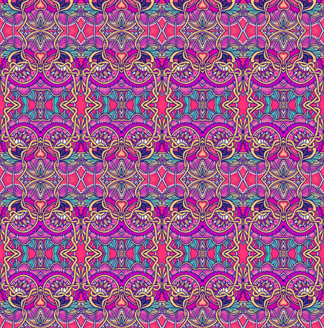 By Her Royal Majesty's Request fabric by edsel2084 on Spoonflower - custom fabric