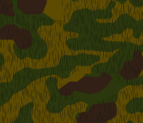 Sumpfmuster 44 Tan & Water Camo fabric by ricraynor on Spoonflower - custom fabric