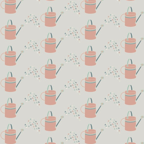 Watering Cans Pink