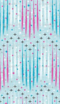 Jubilee Flyover - Red Arrows
