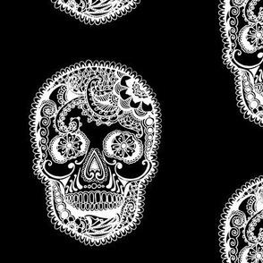 Henna Pattern Sugar Skull