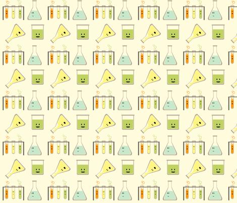 mad science -mini fabric by avelis on Spoonflower - custom fabric