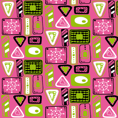 Box Life  fabric by jlwillustration on Spoonflower - custom fabric