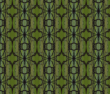 green trees fabric by eat_my_sweet_dust on Spoonflower - custom fabric