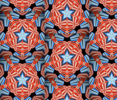 Stars and Stripes 4 fabric by dovetail_designs on Spoonflower - custom fabric