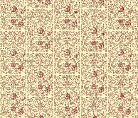 Queen Elizabeth I fabric by flyingfish on Spoonflower - custom fabric