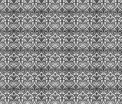 Italianate white fabric by flyingfish on Spoonflower - custom fabric