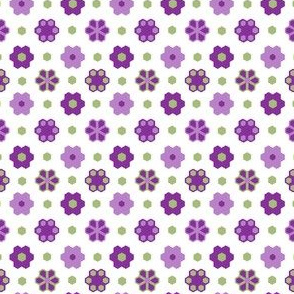 Hex Flowers 2_inch_purples green_white_hex_4-ch