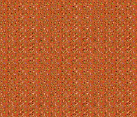 Level_One_in_Golden_Brown fabric by patsijean on Spoonflower - custom fabric