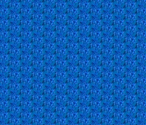 blueflower fabric by leopardessmoon on Spoonflower - custom fabric