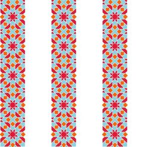 Star tile stripe