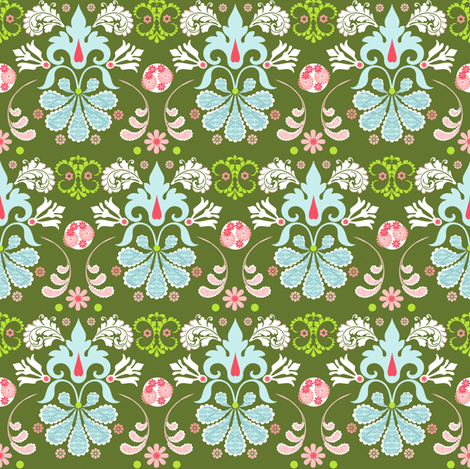 olivia fabric by natitys on Spoonflower - custom fabric