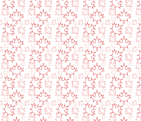 Loopy Leaves fabric by loopy_canadian on Spoonflower - custom fabric