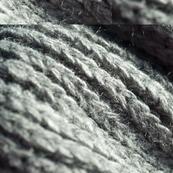 grey knit twirl