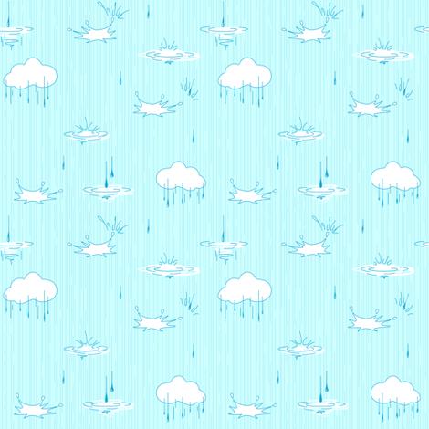 Sky background. Blue. fabric by innaogando on Spoonflower - custom fabric