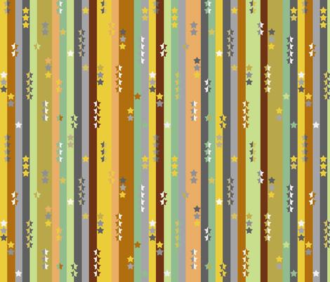 stripes and stars - boys multi -smaller fabric by uzumakijo on Spoonflower - custom fabric