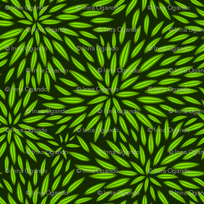 Leaves. Green