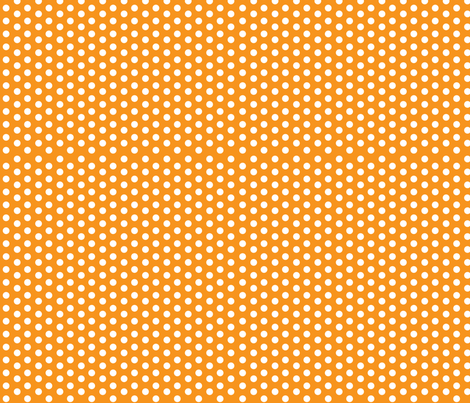 Mushroom Dots fabric by holladaydesigns on Spoonflower - custom fabric