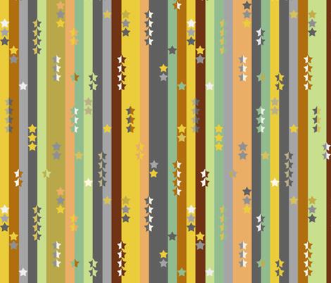 Stripes and stars - boys multi fabric by uzumakijo on Spoonflower - custom fabric