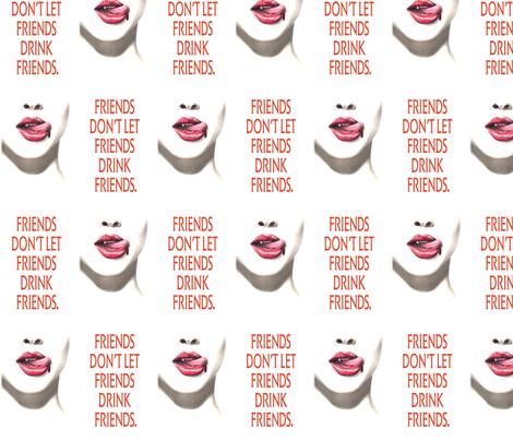 true blood friends fabric by geekinspirations on Spoonflower - custom fabric