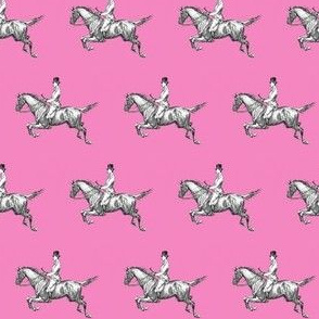Gentleman on pink