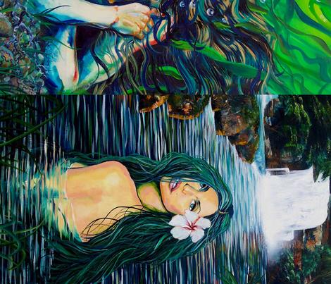 mermaids1 fabric by rw2gallery on Spoonflower - custom fabric