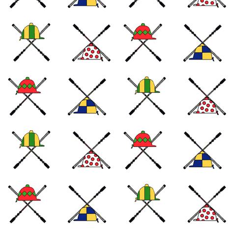 Hats and Bats fabric by ragan on Spoonflower - custom fabric