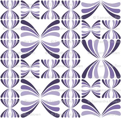 Retro Geometric - Purple