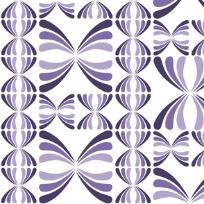 Retro Geometric - Purple