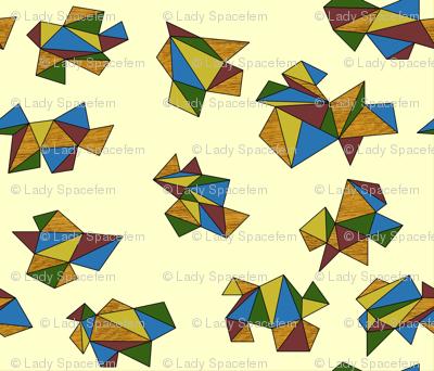 geometric folds on neutral