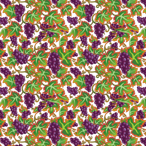 Vineyard_Dreams fabric by julistyle on Spoonflower - custom fabric